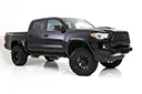 2014 ford f-150 dsi lifted truck with m1 fender flares